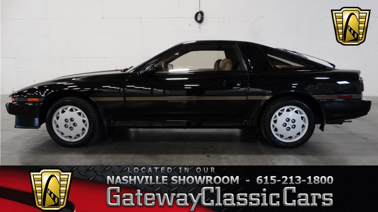 1987 Toyota Supra For Sale >> 1987 Toyota Supra,Gateway Classic Cars-Nashville #65 - YouTube