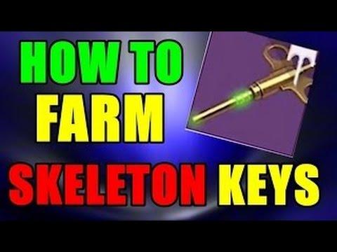 destiny rise of iron best skeleton key farming tip and artifact