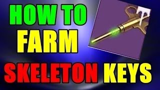Destiny Rise of Iron - BEST SKELETON KEY FARMING TIP and ARTIFACT HIGH LIGHT PART 1