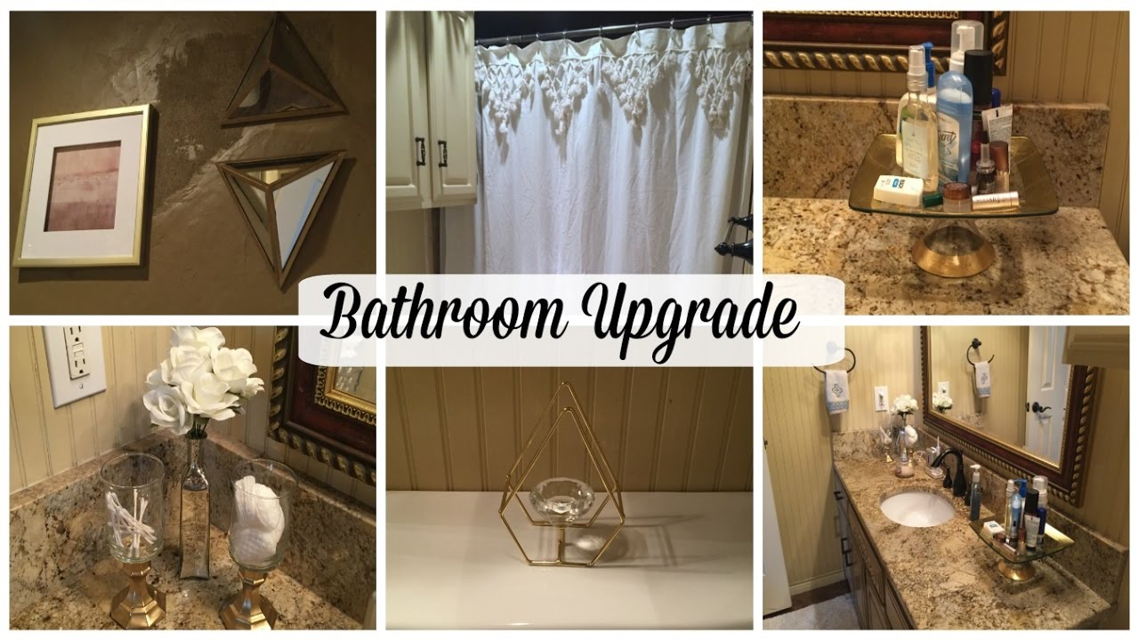 Bathroom makeover dollar tree diy teengirl guest bath for Bathroom decor dollar tree