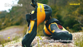 What type of climbing shoes are right for you? La Sportiva Mythos, Katana, Skwama