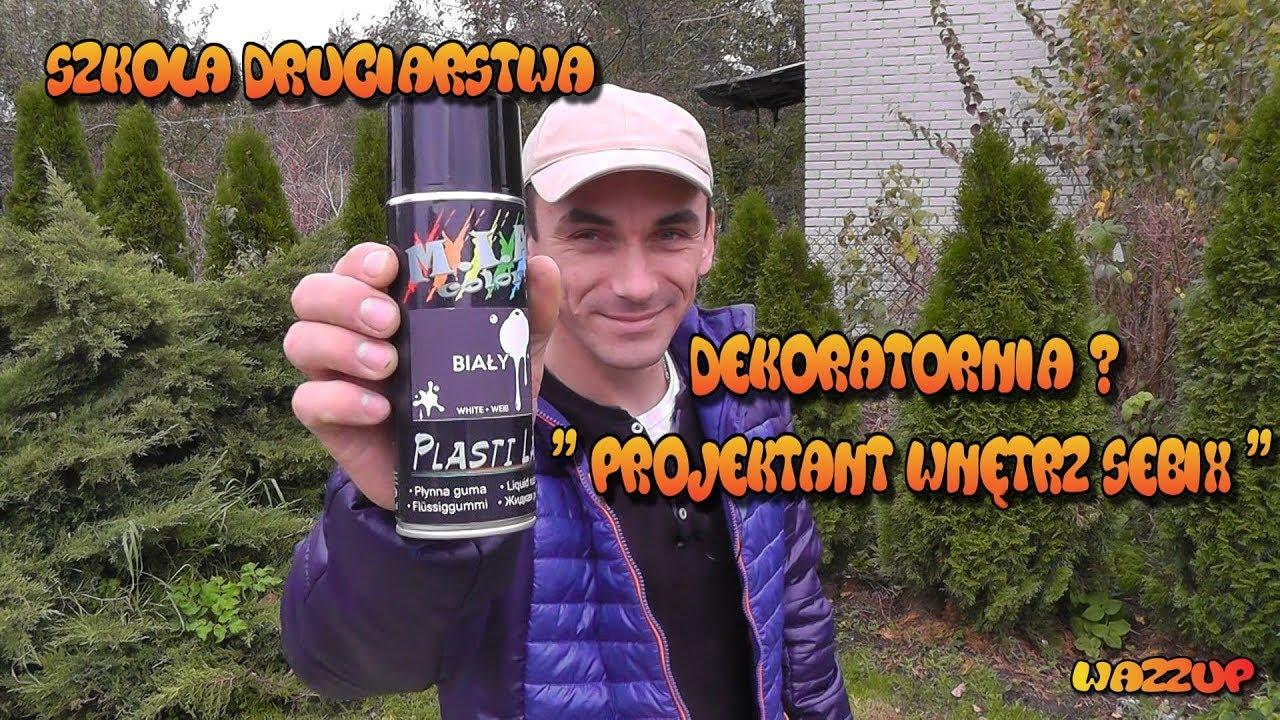 """Szkoła Druciarstwa Plasti Lak """" Projektant Wnętrz Sebix """" Wazzup :)"""