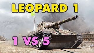 World of Tanks | Leopard 1 - 8 Kills - 8.9K Damage