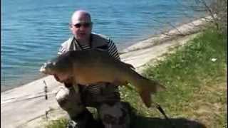На рыбалке в Крыму(Красивый водоем. Увлекательная рыбалка, поймали большого карпа больше 15 кг. https://www.youtube.com/channel/UCoXw6GT8hVapy7vXPaiH7yQ., 2013-08-22T19:05:12.000Z)