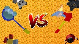 🐝Bublifuk VS Kosa🍯/ Bubble Wand VS Scythe / CZ / ROBLOX / Bienenschwarm Simulator / jurasek05