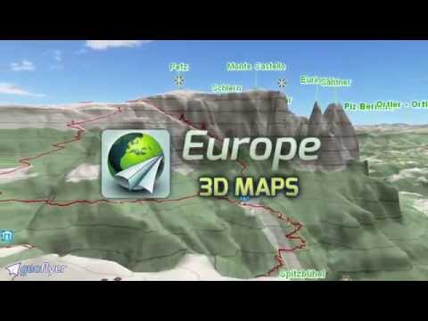 Geoflyer Europe 3d Offline Maps Gps Routing Apps On Google Play