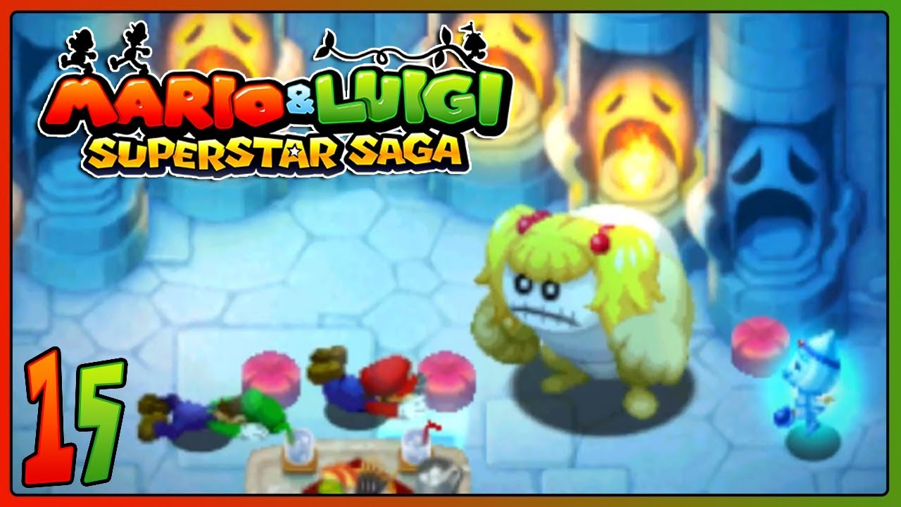 Mario Luigi Superstar Saga 3ds Part 15 Jokes End Gameplay