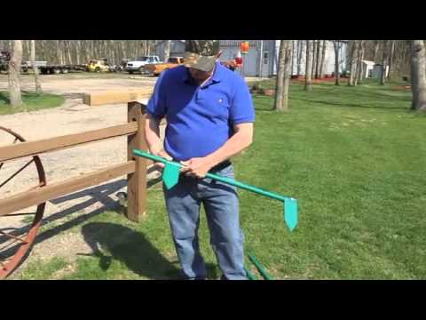 Parallel Garden Hoe Invented by Kelly Wroolie - Brainerd Dispatch, MN