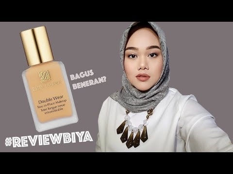 ESTEE LAUDER DOUBLE WEAR FOUNDATION REVIEW | FATYABIYA