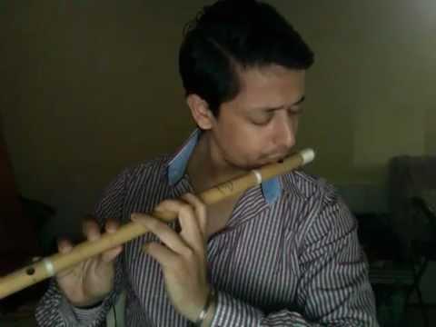 Rutwij Vaidya Playing Raag Bhupali On Bansi