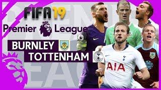 Burnley vs Tottenham | FIFA 19 Premier League Gameweek 27 Highlights