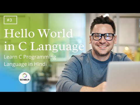 #4c hello world in C | Learn C Programming Language in hindi
