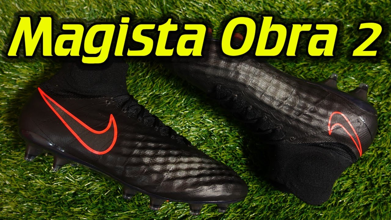 Nike Magista Obra 2 (Pitch Dark Pack) - Review + On Feet - YouTube d5ce46db9