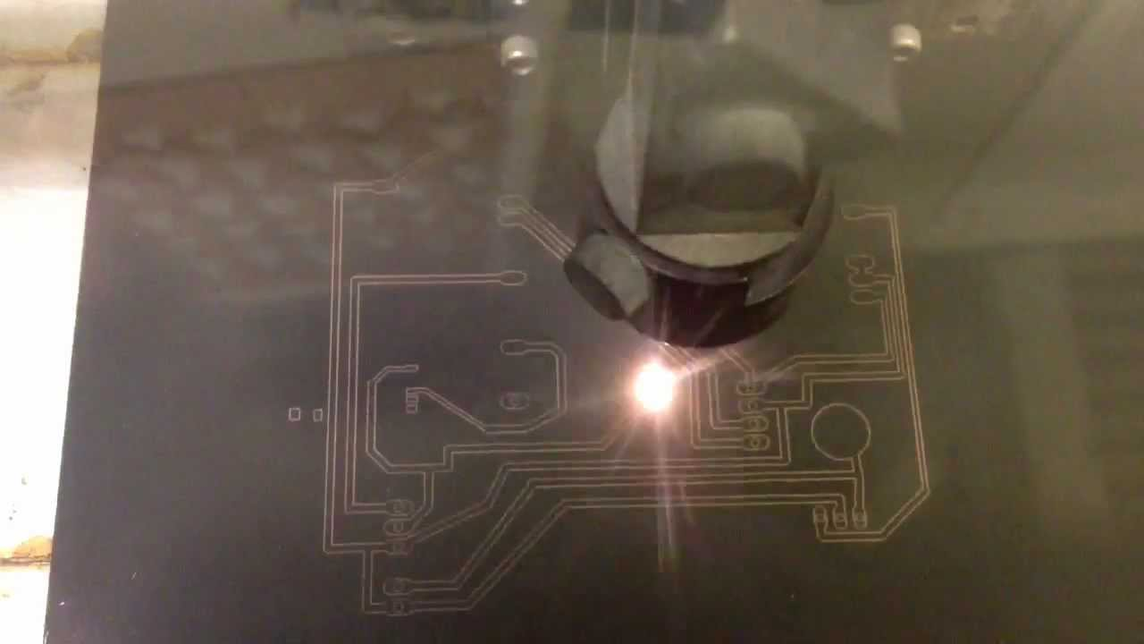 Laser Etched Pcb Youtube Etching A Circuit Board