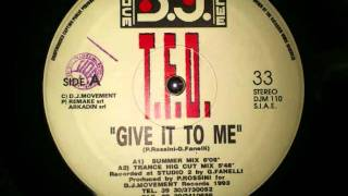 TFO Give It To Me (Summer Mix) DJM110 DJ Movement Records