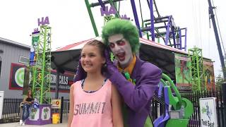Six Flags New England showcases The Joker, a 4D coaster in Agawam