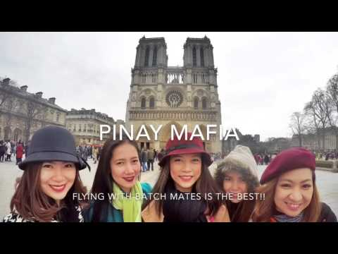 VLOG #11: Paris Layover, Notre Dame, I bought a branded bag 😳 -Flight Attendant