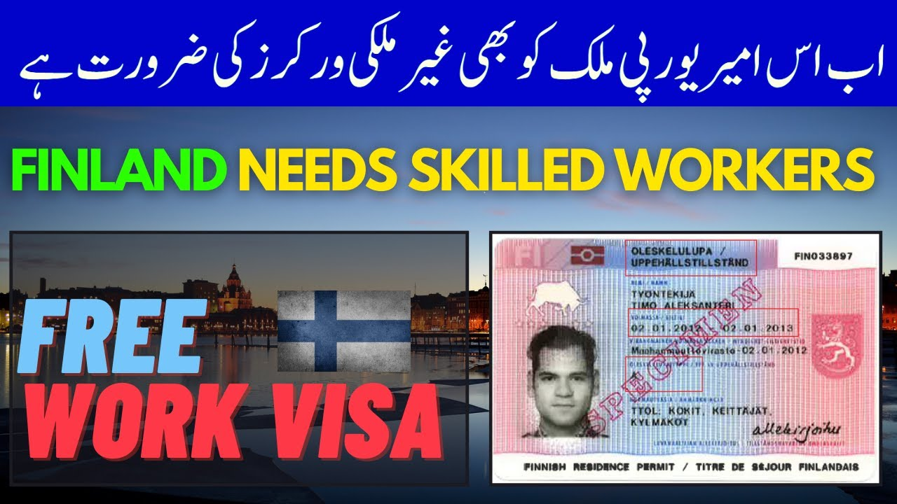 Finland Needs Skilled Workers from non-EU Countries