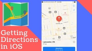 Video HOW TO GET DIRECTIONS IN SWIFT || OPEN ADDRESS IN NATIVE MAPS APP download MP3, 3GP, MP4, WEBM, AVI, FLV September 2018