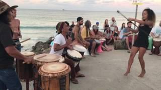 Byron Bay Drum circle