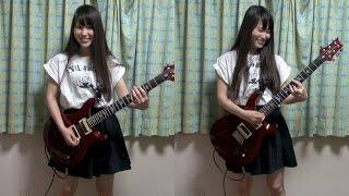 fripSide『only my railgun』のギターを弾いてみた!女ギタリスト!オンリーマイレールガン