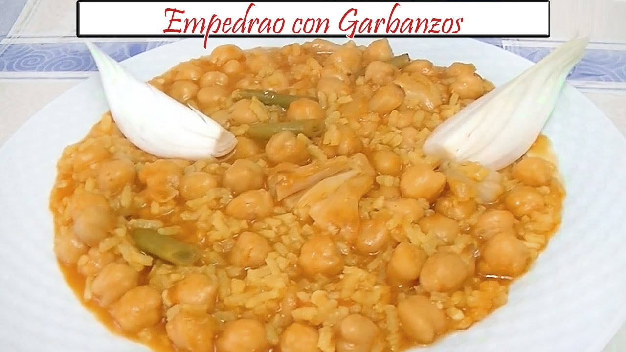 Recetas de garbanzos con arroz gallery of puchero de - Potaje garbanzos con arroz ...