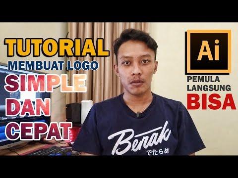 [Tutorial] Membuat Logo DROP Bagi Pemula | Adobe Illustrator CC.