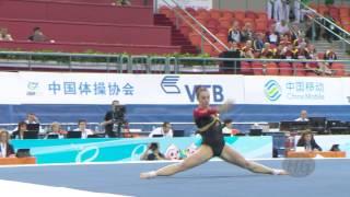 SCHAEFFER Pauline (GER) – 2014 Artistic Worlds, Nanning (CHN) – Qualifications Floor