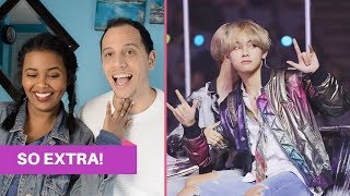 BTS FUNNY AND CUTE MOMENTS AT AWARD SHOWS REACTION (BTS REACTION)