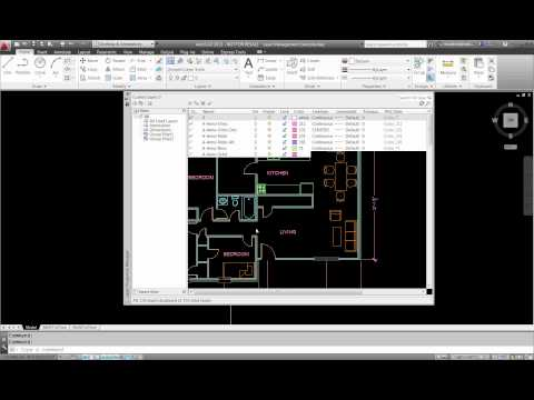 CAD-1 Presents Layer Filters and Layer States