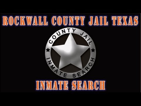 Rockwall County Jail Texas - Inmate Search