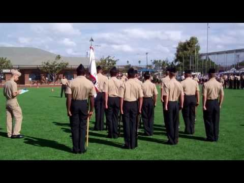 Orange Glen High School NJROTC Armed Drill Team: Basic Drill Inspection