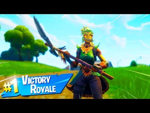 New SCARECROW SKINS Gameplay in Fortnite..