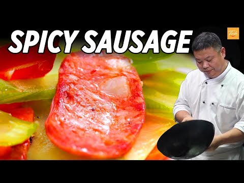 Masterchef's Favorite Spicy Sausage l 川味香腸 • Taste The Chinese Recipes Show