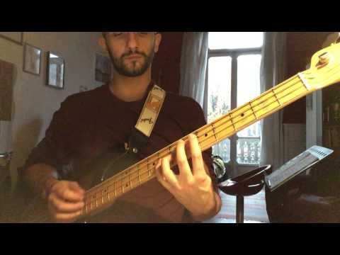 Gianmaria Ferrario  - Beatles Lovely Rita Bass Cover (Precision 55 custom shop)