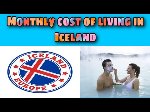 Monthly cost of living in Iceland || Expense Tv