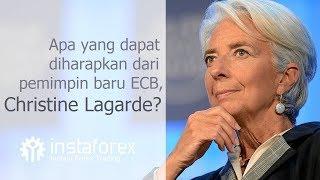 InstaForex tv news: Apa yang dapat diharapkan dari pemimpin baru ECB, Christine Lagarde?