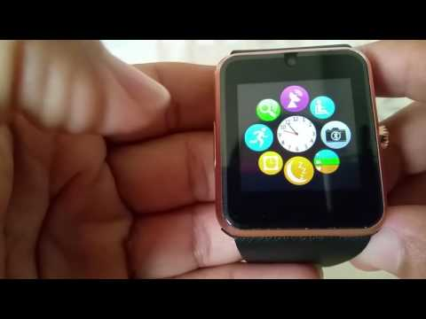 How to pair GT08 Smart watch with Iphone 7