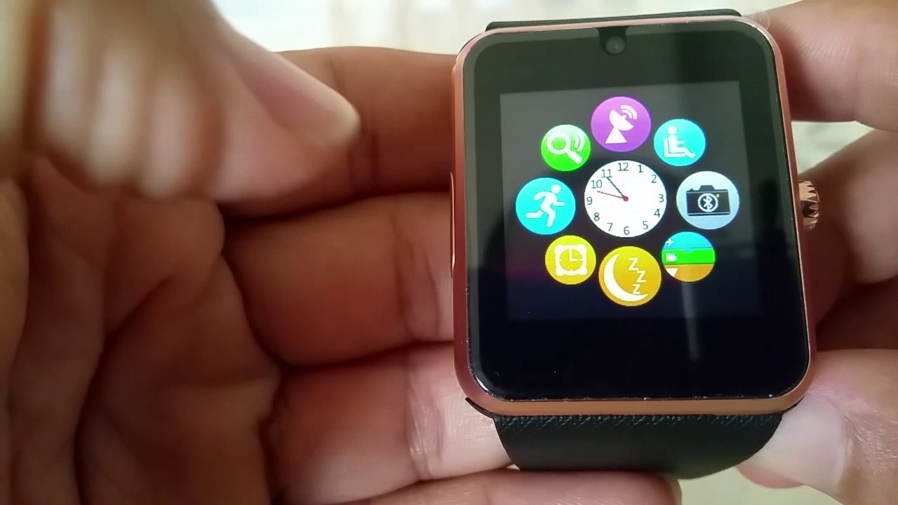 bac98f50c How to pair GT08 Smart watch with Iphone 7 - YouTube