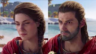Assassin's Creed Odyssey. Comparativa Kassandra/Alexios