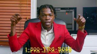 Смотреть клип Blvk H3Ro X Wayne J X Skillibeng - Young Boss Remix