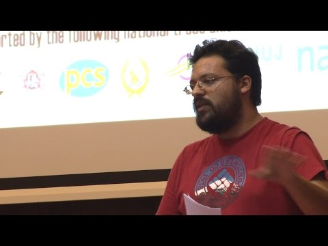 NSSN conference 2015: Greek trade union activist Harris Side