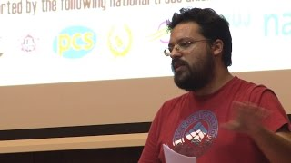 NSSN conference 2015: Greek trade union activist Harris Sideris