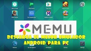 Como Descargar El Mejor Emulador De Android Para Pc 2018 | MEMU