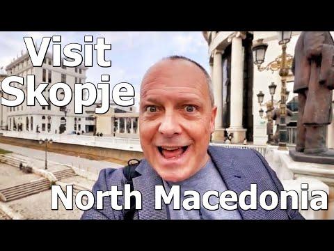 Macedonia AllWeb Keynote and Skopje city tour - RogVLOG35