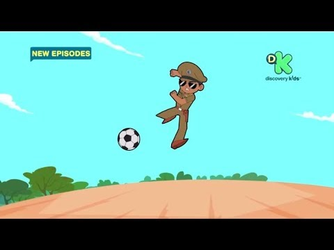 Little Singham – New Episodes starting 12th May! Kids Cartoon @ Discovery Kids