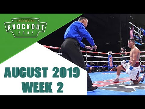 Boxing Knockouts | August 2019 Week 2