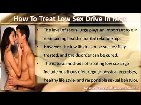 How to decrease sex drive