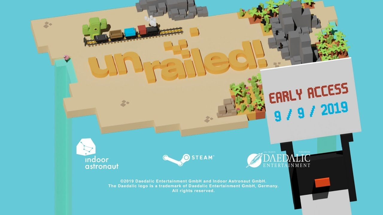 Unrailed! Release Date Trailer