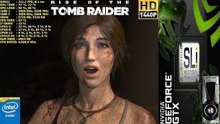 Rise Of The Tomb Raider Ultra Settings | GTX 1080 SLI | HB Bridge | i7 5960X 4.5GHz
